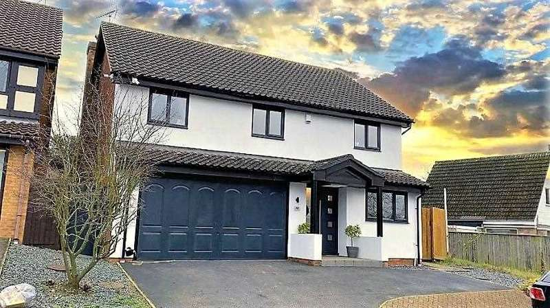 6 Bedrooms Detached House for sale in The White House, 44 The Glebe, Lavendon