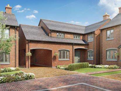 5 Bedrooms Detached House for sale in Laburnum Gardens, High Street, Stoke Golding, Nuneaton