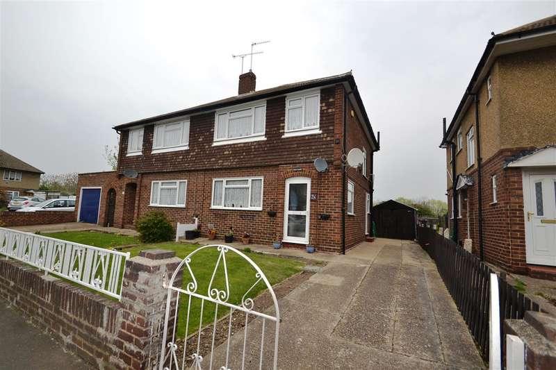 3 Bedrooms Semi Detached House for sale in Montrose Road, Bedfont