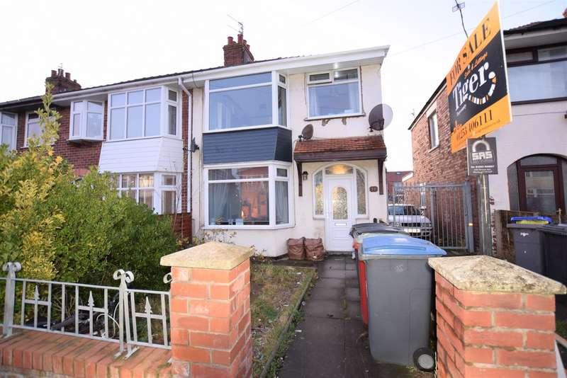 3 Bedrooms End Of Terrace House for sale in Rosedale Avenue, Blackpool