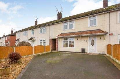 3 Bedrooms Terraced House for sale in Aldersey Road, Wistaston, Crewe