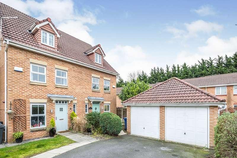 3 Bedrooms Semi Detached House for sale in Withinlea, Bamber Bridge, Preston, Lancashire, PR5