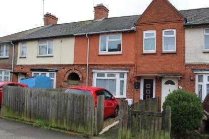 3 Bedrooms Terraced House for sale in Oval Crescent, Rushden, Na