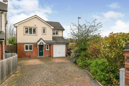 4 Bedrooms Detached House for sale in Cysgod Y Castell, Llandudno Junction, Conwy, North Wales, LL31