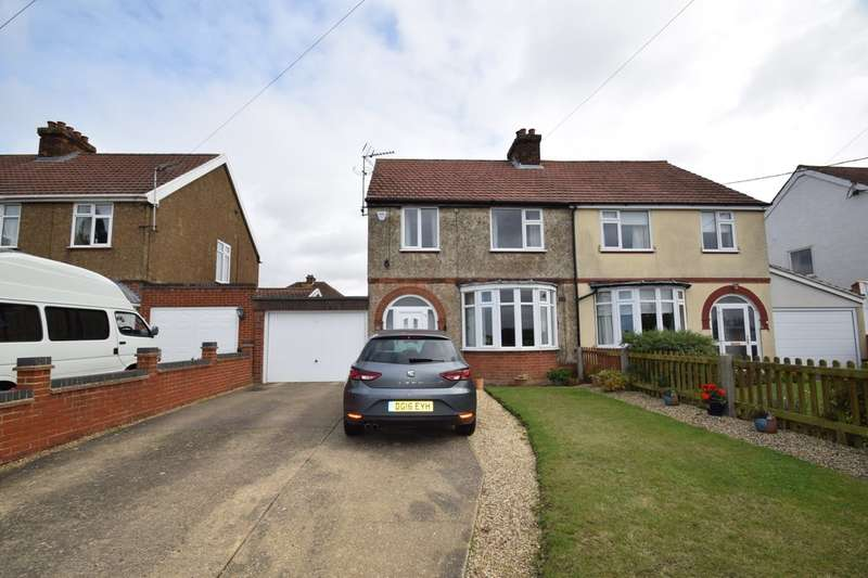 3 Bedrooms Semi Detached House for sale in Thorney Green Road. Stowupland