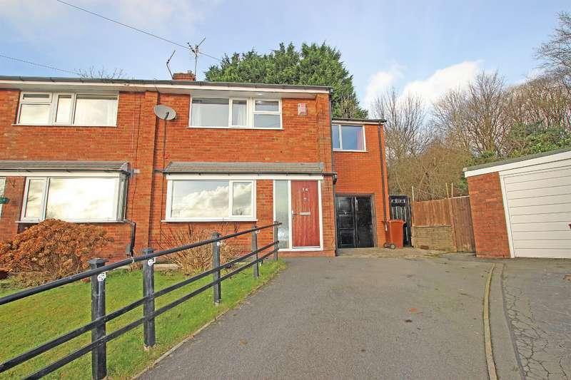 3 Bedrooms Semi Detached House for sale in Swan Farm Close, Lower Darwen, Darwen, BB3 0QU