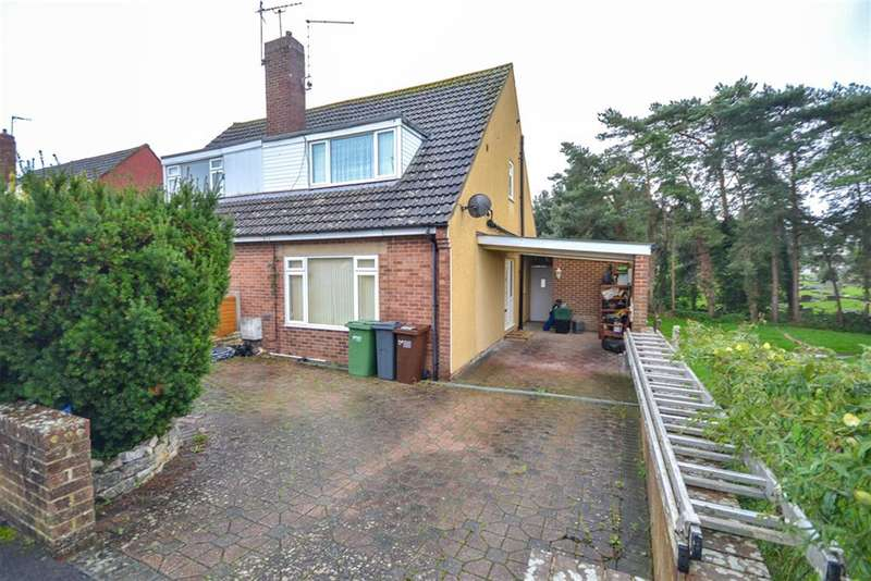 3 Bedrooms Semi Detached House for sale in Howmead, Berkeley, GL13 9AS
