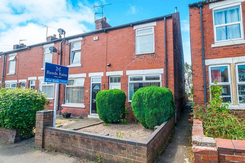 2 Bedrooms End Of Terrace House for sale in St. Johns Road, Laughton, Sheffield, S25