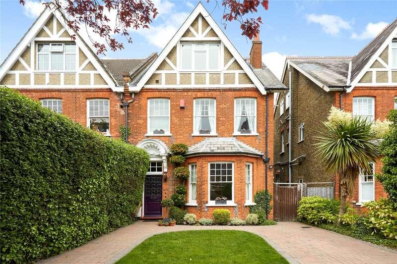 5 Bedrooms Semi Detached House for sale in Mulgrave Road, Belmont, Sutton, SM2
