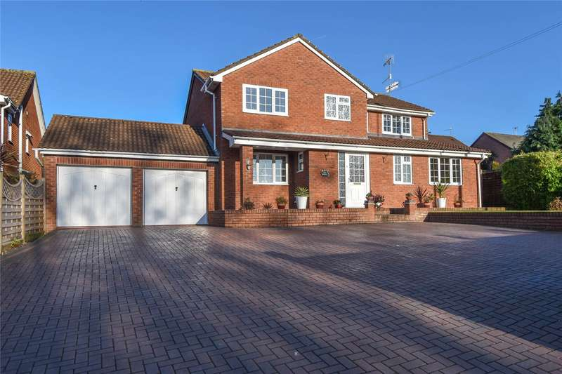 4 Bedrooms Detached House for sale in Redditch Road, Stoke Heath, Bromsgrove, Worcestershire, B60