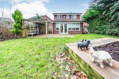 3 Bedrooms Detached House for sale in Sovereign Close, Murdishaw, Runcorn, Cheshire, WA7