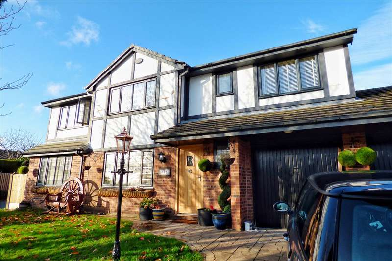 4 Bedrooms Detached House for sale in Moorgate Road, Carrbrook, SK15