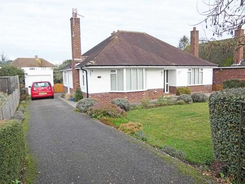 2 Bedrooms Detached Bungalow for sale in Minden Drive, Bury St Edmunds, IP33