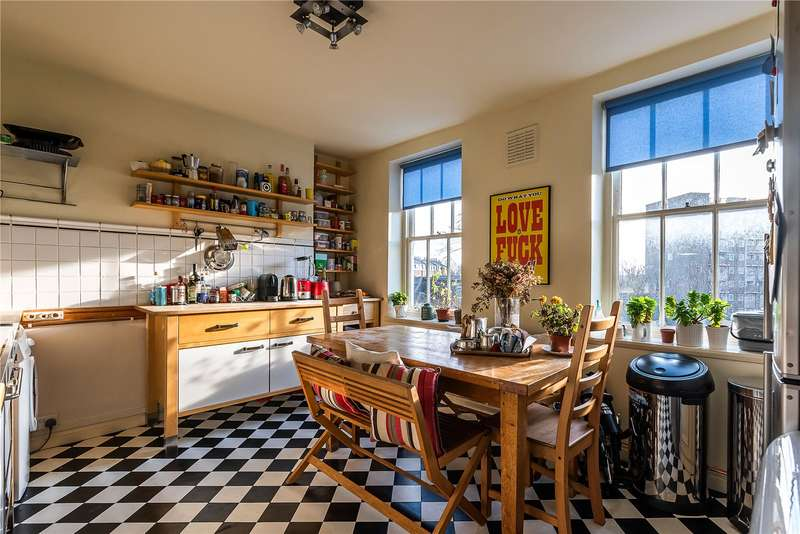 2 Bedrooms Flat for sale in Clapham Common South Side, London, SW4