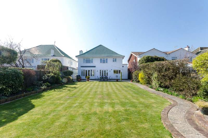 4 Bedrooms Detached House for sale in Arlington Avenue, Goring By Sea, Worthing, BN12