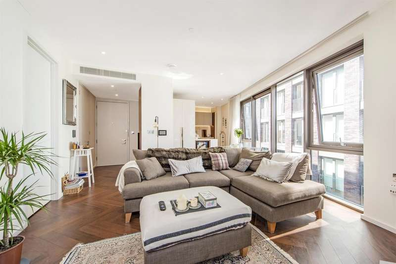 1 Bedroom Flat for sale in Capital Building, Embassy Gardens, Nine Elms, 8 New Union Square, London