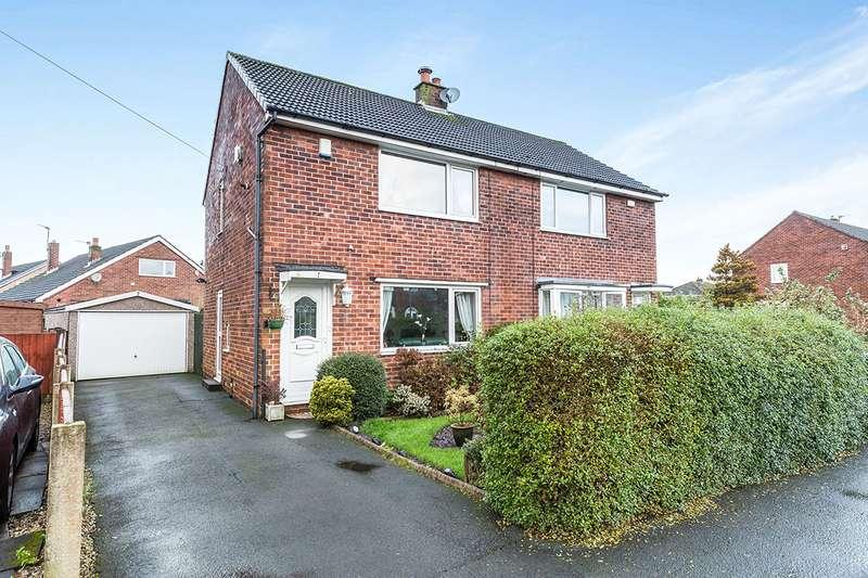 2 Bedrooms Semi Detached House for sale in Grenville Avenue, Walton-le-Dale, Preston, Lancashire, PR5