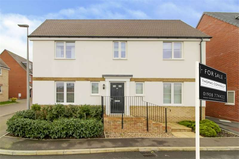 4 Bedrooms Detached House for sale in Antigua Way, Bletchley, MILTON KEYNES, Buckinghamshire