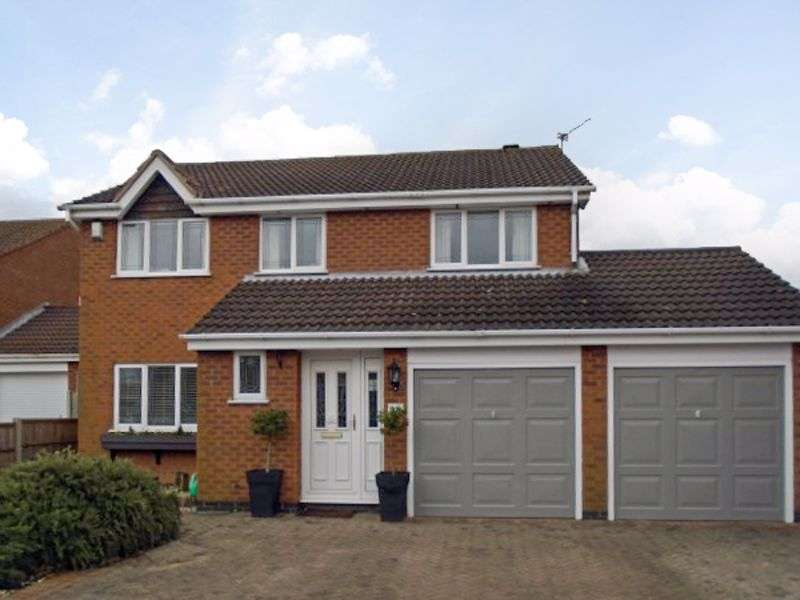 4 Bedrooms Property for sale in Frobisher Close, Hinckley