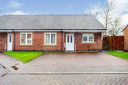 2 Bedrooms Bungalow for sale in Spring Bank Close, Blackburn, Lancashire, ., BB2