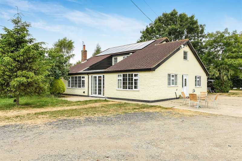 4 Bedrooms Detached House for sale in Hagnaby Lane, Keal Cotes, Spilsby, PE23 4AL