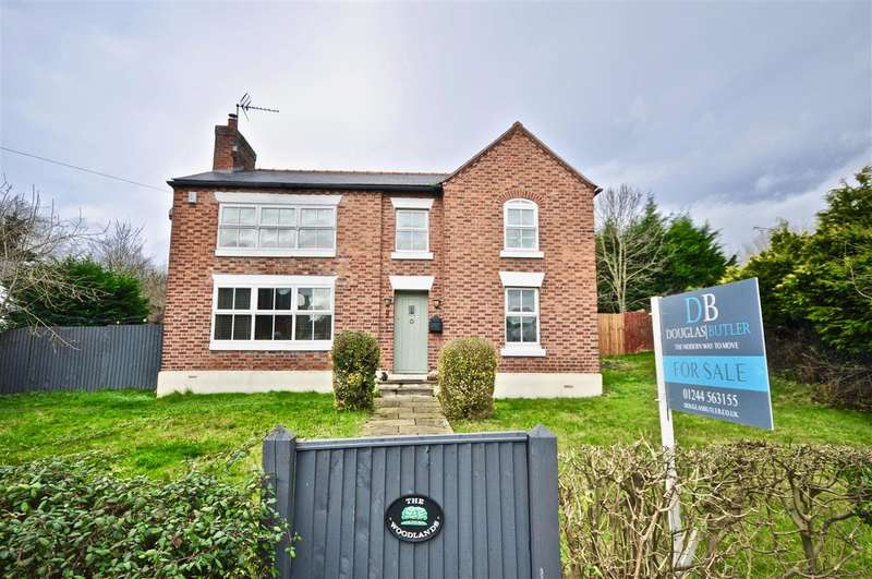 4 Bedrooms Detached House for sale in The Woodlands, Church Road, Saughall, Chester