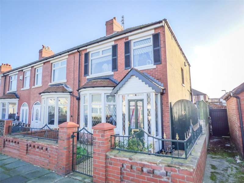 3 Bedrooms End Of Terrace House for sale in Harlech Avenue, South Shore, Blackpool