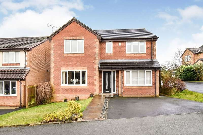 4 Bedrooms Detached House for sale in Clayton Way, Blackburn, BB2