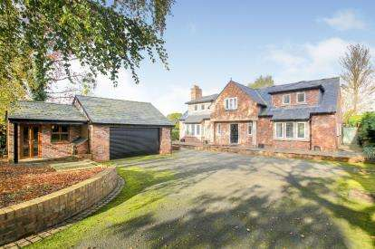 5 Bedrooms Detached House for sale in Alderley Road, Prestbury, Cheshire, Uk