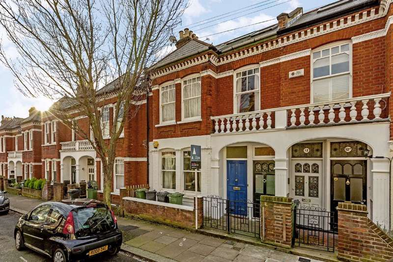 2 Bedrooms Flat for sale in Mandalay Road, Clapham, London