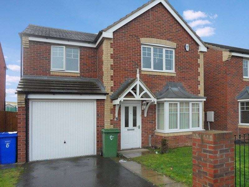 4 Bedrooms Property for sale in Otus Grove, South Shore, Blyth, Northumberland, NE24 3RY