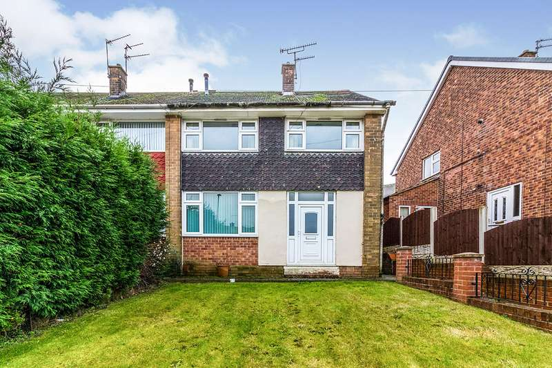 3 Bedrooms Semi Detached House for sale in Nidderdale Road, Rotherham, South Yorkshire, S61