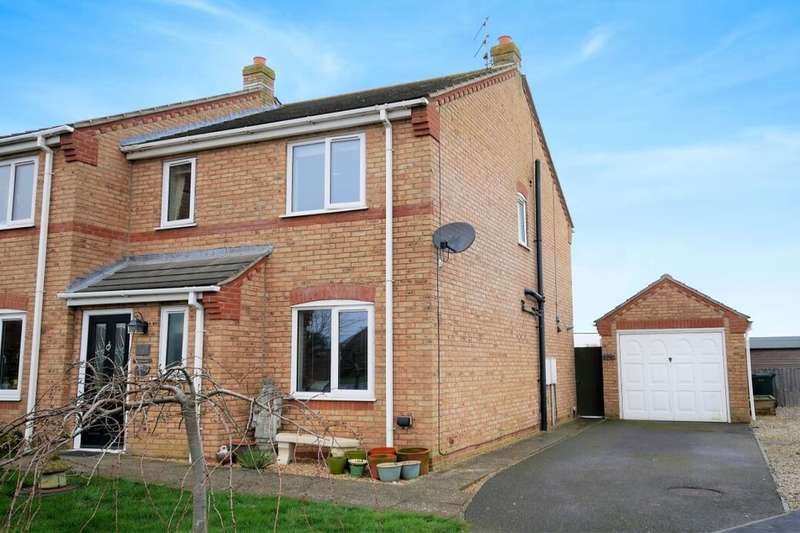 3 Bedrooms Semi Detached House for sale in Tramway Drive, Sutton-On-Sea, Mablethorpe, LN12