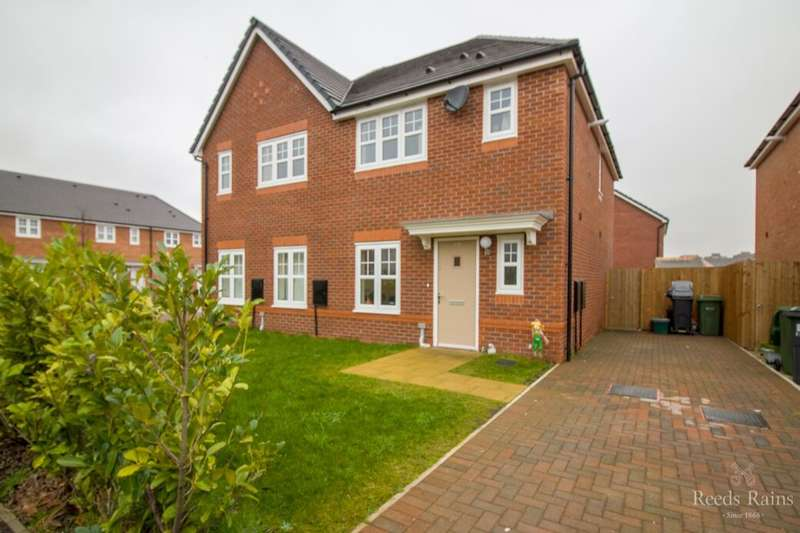 3 Bedrooms Semi Detached House for sale in Darwin Row, Ellesmere Port, CH65