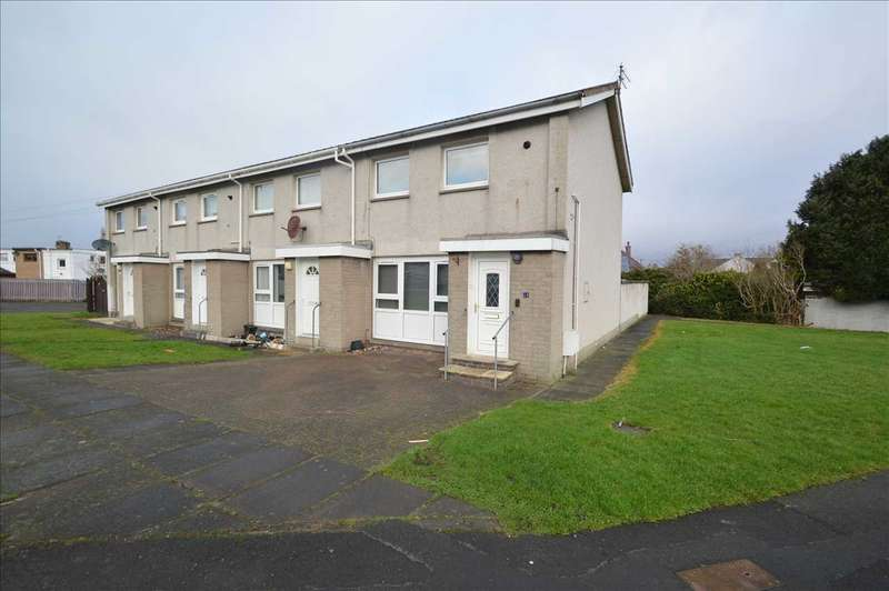 2 Bedrooms End Of Terrace House for sale in Covenant Crescent, Larkhall