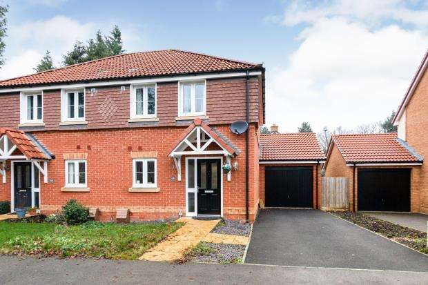 2 Bedrooms Semi Detached House for sale in Beggarwood, Basingstoke, Hampshire