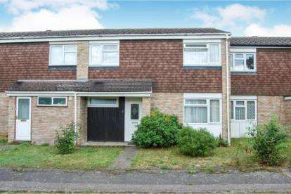 3 Bedrooms Terraced House for sale in Atholl Walk, Bedford, Bedfordshire