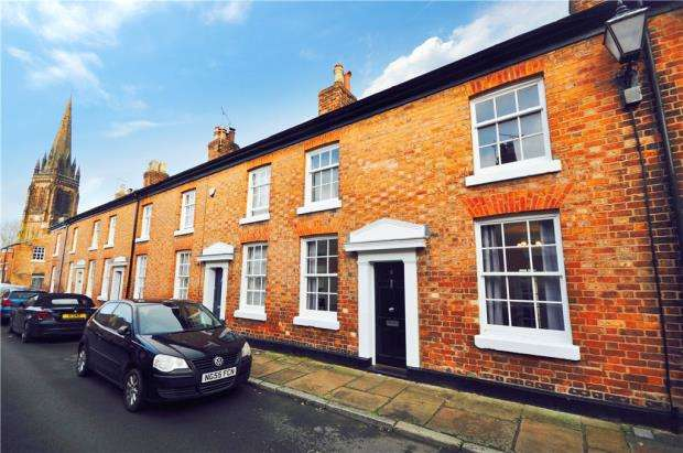 2 Bedrooms Terraced House for sale in Pyecroft Street, Chester, Cheshire