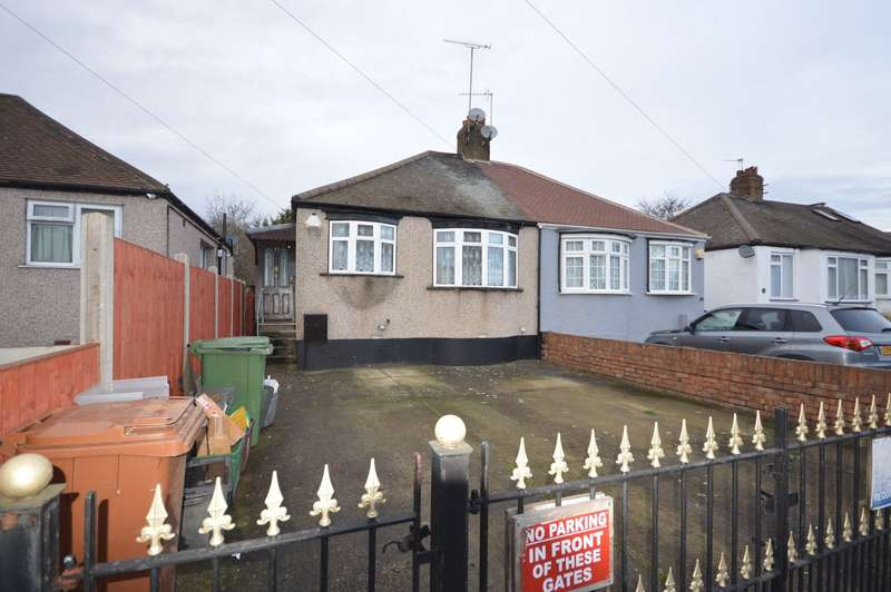 2 Bedrooms Semi Detached Bungalow for sale in Sydney Road, London, SE2