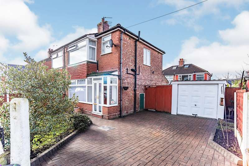 3 Bedrooms Semi Detached House for sale in Gibson Avenue, Gorton, Manchester, Greater Manchester, M18