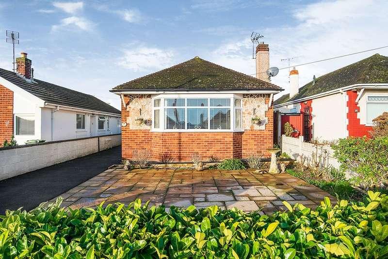 2 Bedrooms Detached Bungalow for sale in Bryn Cwnin Road, Rhyl, Denbighshire, LL18