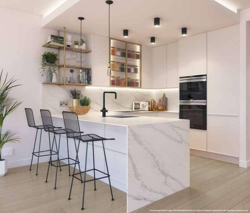 1 Bedroom Apartment Flat for sale in Carrera Tower, 250 City Road, Islington, EC1V