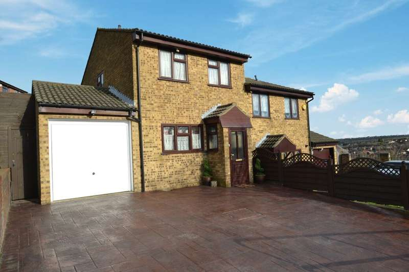 3 Bedrooms Semi Detached House for sale in Monarch Close, Walderslade, Chatham, ME5