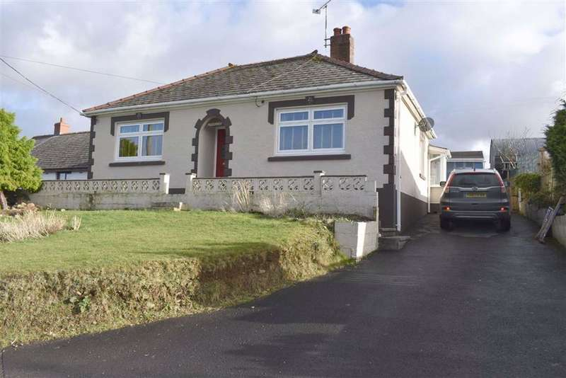 3 Bedrooms Detached Bungalow for sale in Llanllwni, Llanybydder