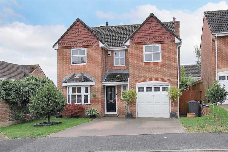 4 Bedrooms Detached House for sale in Andeferas Road, Andover