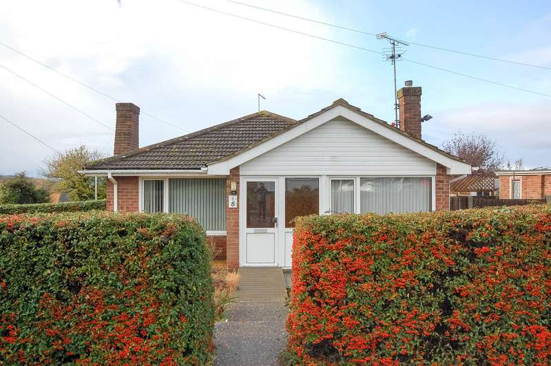 2 Bedrooms Semi Detached Bungalow for sale in Sunset Close, Whitstable