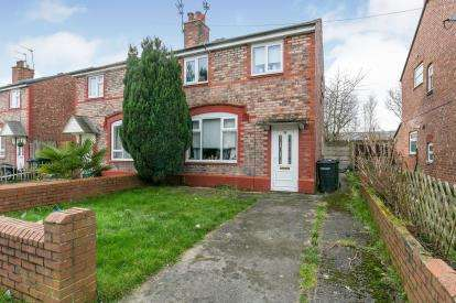 3 Bedrooms Semi Detached House for sale in Park Road, Ellesmere Port, Cheshire, CH65