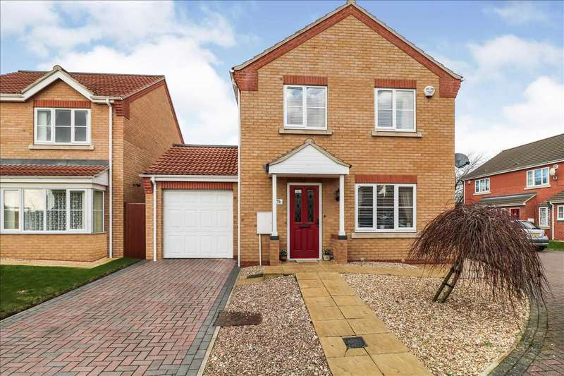4 Bedrooms Detached House for sale in Jubilee Close, Cherry Willingham, Cherry Willingham, Lincoln