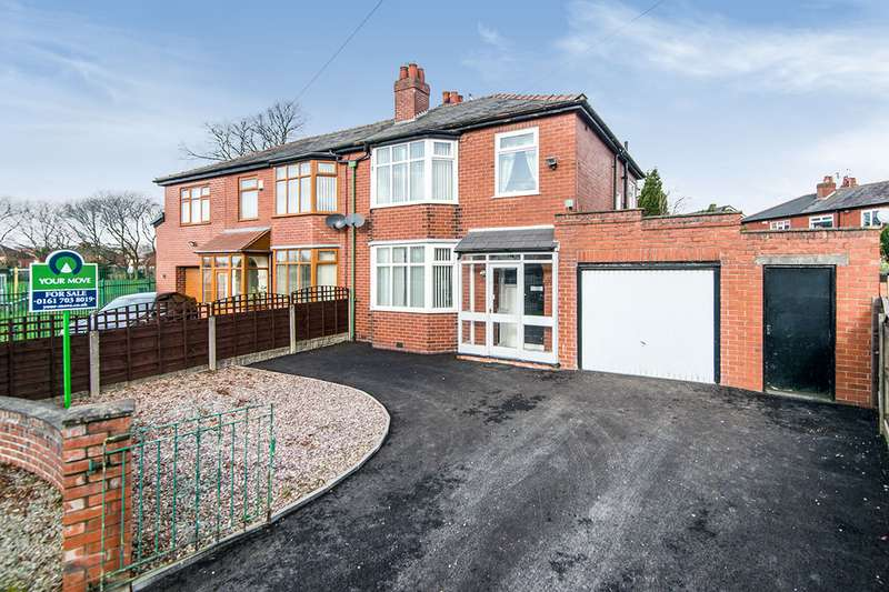 3 Bedrooms Semi Detached House for sale in Rochester Avenue, Worsley, Manchester, M28