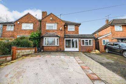 3 Bedrooms Semi Detached House for sale in Rydding Lane, West Bromwich, West Midlands